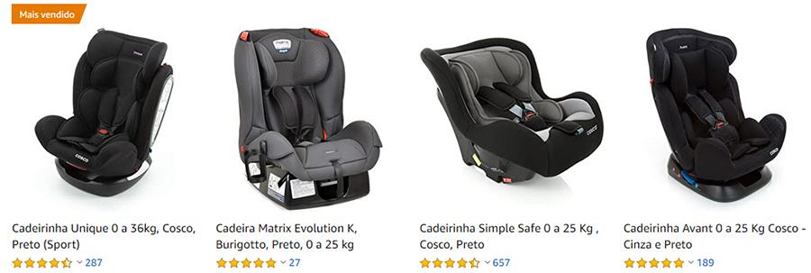 cadeira de bebe para auto amazon